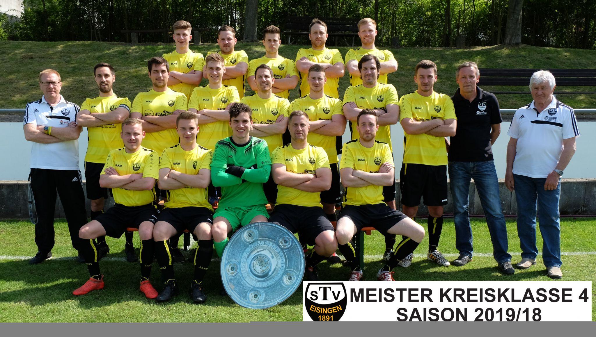 Meisterschaftsbild TSV Eisingen